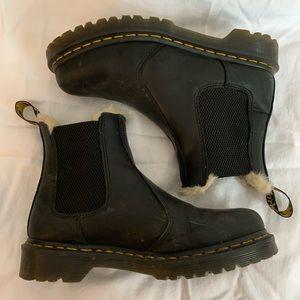 Dr. Martens 2976 Faux Fur Lined Boots